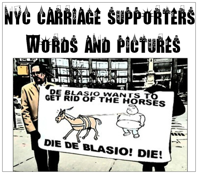 NYC Carriage Supporters banner